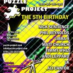 Puzzle Project 5th Birthday on Puzzle Project (25th September 2010)
