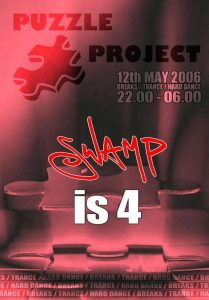 Puzzle Project presents Swamps 4th Birthday on Puzzle Project